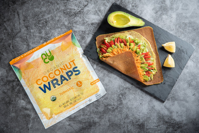 Vegetable Coconut Wrap