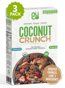 Coconut Crunch - 3 packs - Paleo