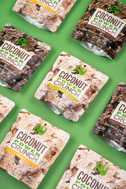 Coconut Power Crunch Snacks | Available on Amazon Prime