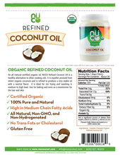 NUCO Organic Refined Coconut Oil (54 FL OZ)