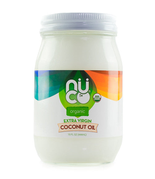 NUCO Organic Extra Virgin Coconut Oil (15 FL OZ)