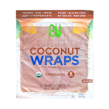 NUCO Organic Coconut Wraps (One Pack of Five Wraps), 5 Count