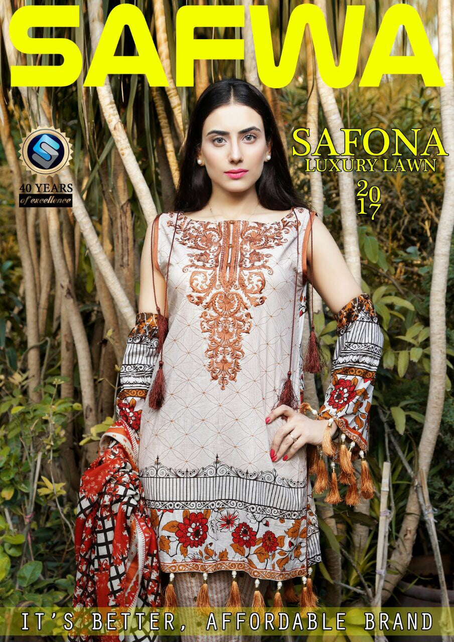 Safwa Safona Collection Pakistan