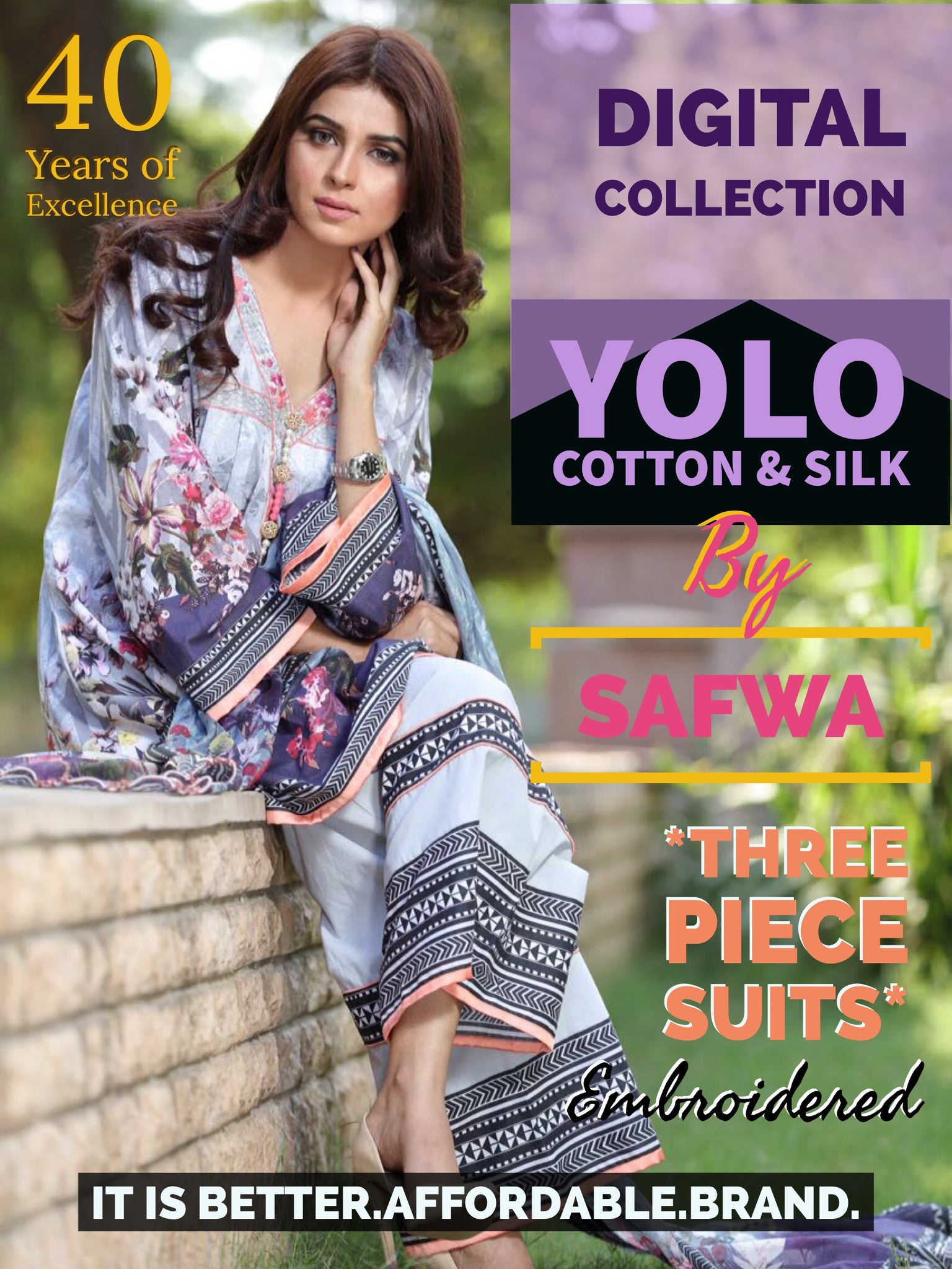 Safwa Yolo Cotton & Linen Collection Pakistani Clothes Online Shopping Pakistan