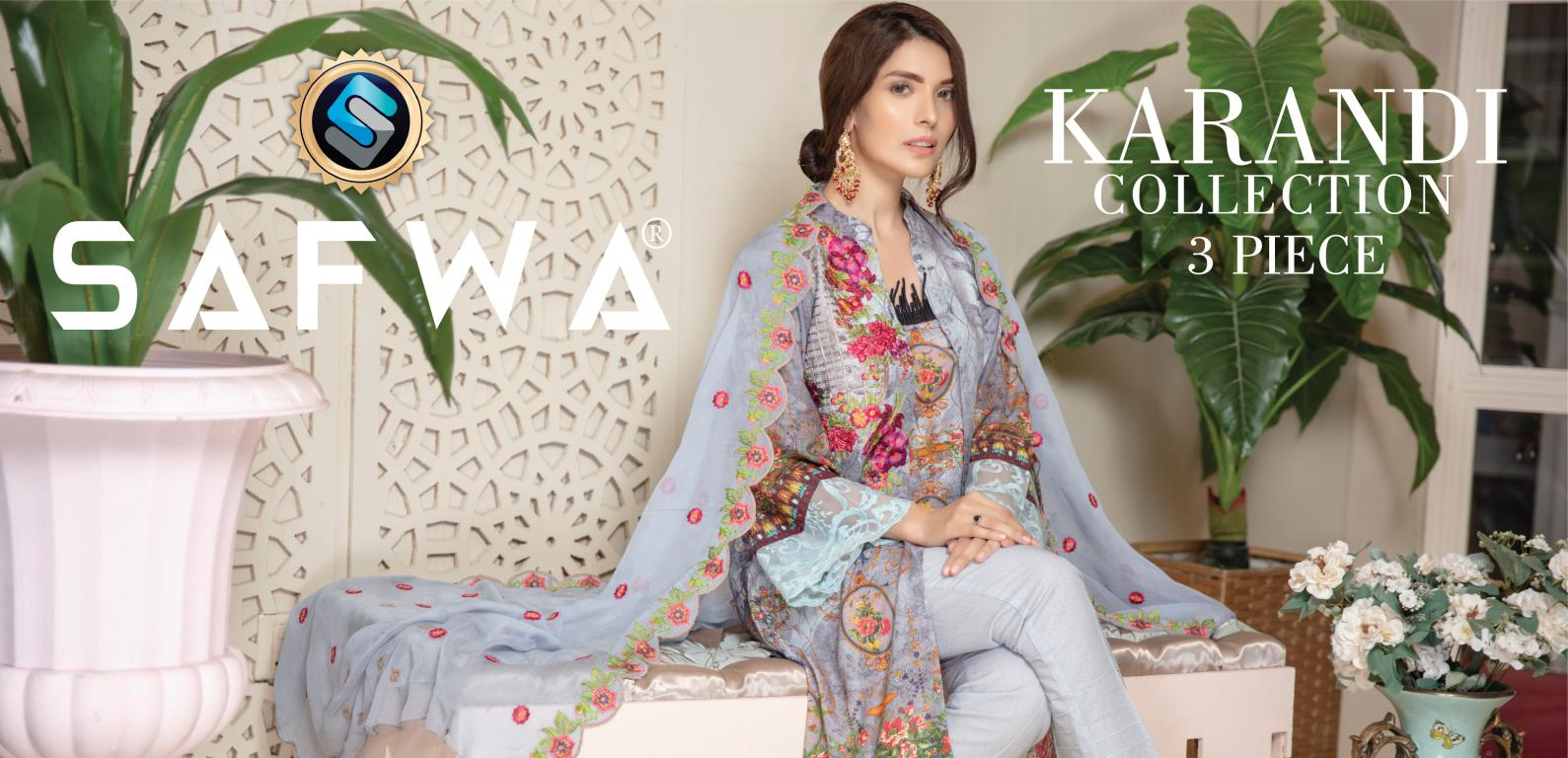 Safwa Karndi Winter Collection 2019