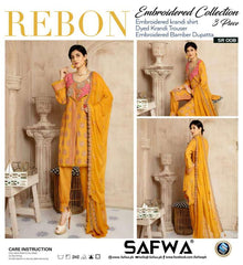 SRC-009 - SAFWA REBON EMBROIDERED KARANDI-3 PIECE COLLECTION -SHIRT Trouser and Duptta |SAFWA DRESS DESIGN| DRESSES | PAKISTANI DRESSES | SAFWA -SAFWA Brand Pakistan online shopping for Designer DressesSRC-007 - SAFWA REBON EMBROIDERED KARANDI-3 PIECE COLLECTION -SHIRT Trouser and Duptta |SAFWA DRESS DESIGN| DRESSES | PAKISTANI DRESSES | SAFWA -SAFWA Brand Pakistan online shopping for Designer Dresses