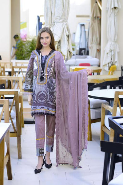 SN-01 - SANRITA COLLECTION VOL 1 3 PIECE SUIT 2020-Three Piece Suit-SAFWA -SAFWA Brand Pakistan online shopping for Designer Dresses SAFWA DRESS DESIGN, DRESSES, PAKISTANI DRESSES