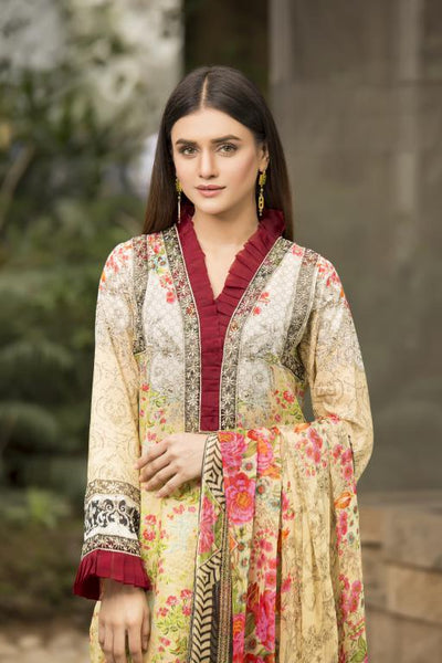 BC-01 - BELLA COLLECTION - 3 PIECE SUIT 2020-Three Piece Suit-SAFWA -SAFWA Brand Pakistan online shopping for Designer Dresses SAFWA DRESS DESIGN, DRESSES, PAKISTANI DRESSES,