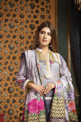 SL-01 -SAFWA LAWN-SALVIA COLLECTION VOL 01 2020 - PRINTED -2 PIECE DRESS - Safwa |Dresses| Pakistani Dresses| Fashion|Online Shopping