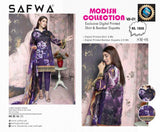 SM 01-SAFWA LAWN-MODISH COLLECTION 2019- PRINTED -2 PIECE DRESS