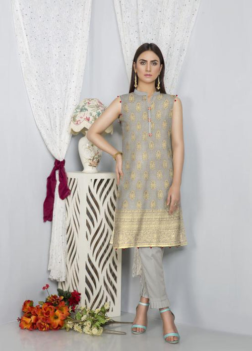 JC-01-SAFWA JACQUARD COTTON 2-PIECE COLLECTION 2020- Safwa |Dresses| Pakistani Dresses| Fashion|Online Shopping