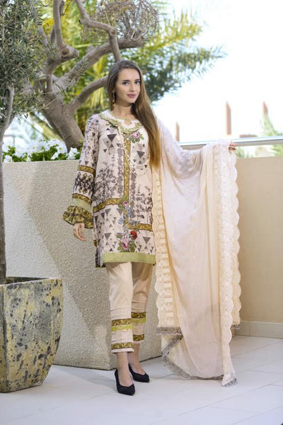 SN-02 - SANRITA COLLECTION VOL 1 3 PIECE SUIT 2020-Three Piece Suit-SAFWA -SAFWA Brand Pakistan online shopping for Designer Dresses SAFWA DRESS DESIGN, DRESSES, PAKISTANI DRESSES