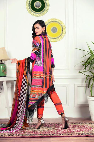 SU-02 - SAFWA URBAN COLLECTION VOL 1 2020 - 3 PIECE SUMMER DRESS COLLECTION