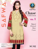 SC-02 - SAFWA PREMIUM LAWN - CHASE COLLECTION - DIGITAL  - SHIRT