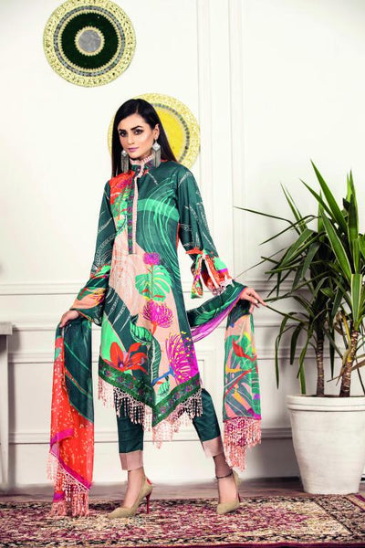 SU-03 - SAFWA URBAN COLLECTION VOL 1 2020 - 3 PIECE SUMMER DRESS COLLECTION