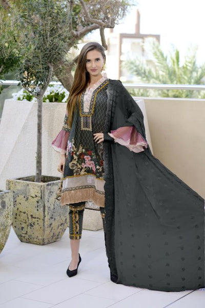 SN-03 - SANRITA COLLECTION VOL 1 3 PIECE SUIT 2020-Three Piece Suit-SAFWA -SAFWA Brand Pakistan online shopping for Designer Dresses SAFWA DRESS DESIGN, DRESSES, PAKISTANI DRESSES