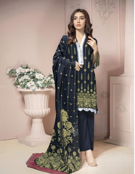 JC-04 -SAFWA 3-PIECE JACQUARD COLLECTION VOL 02 2020 - 3-PIECE DRESS COLLECTION
