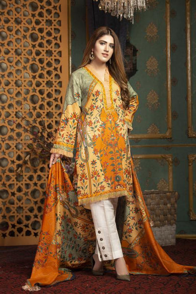 SL-04 -SAFWA LAWN-SALVIA COLLECTION VOL 01 2020 - PRINTED -2 PIECE DRESS - Safwa |Dresses| Pakistani Dresses| Fashion|Online Shopping
