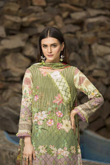 BC-04 - SAFWA BELLA COLLECTION VOL 1- Digital Printed 3-Piece Dress 2020