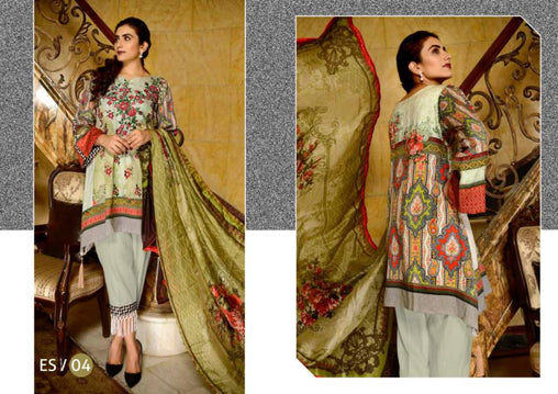 ES-04-SAFWA EVA SATIN COLLECTION vol 1-3 PIECE SUIT-Three Piece Suit Dress Design, Pakistani Dresses, Online Shopping in Pakistan