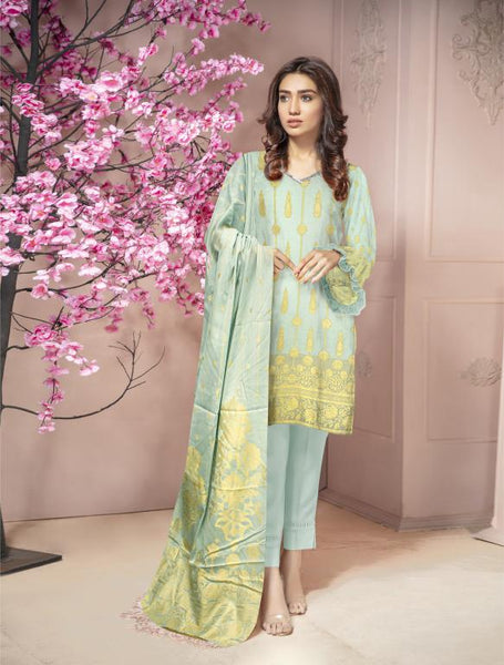 JC-05 -SAFWA 3-PIECE JACQUARD COLLECTION VOL 02 2020 - 3-PIECE DRESS COLLECTION