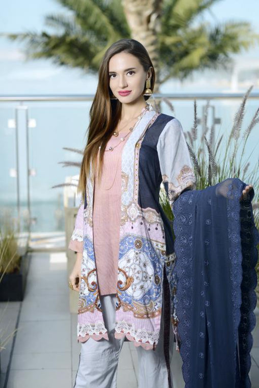 SN-05 - SANRITA COLLECTION VOL 1 3 PIECE SUIT 2020-Three Piece Suit-SAFWA -SAFWA Brand Pakistan online shopping for Designer Dresses SAFWA DRESS DESIGN, DRESSES, PAKISTANI DRESSES