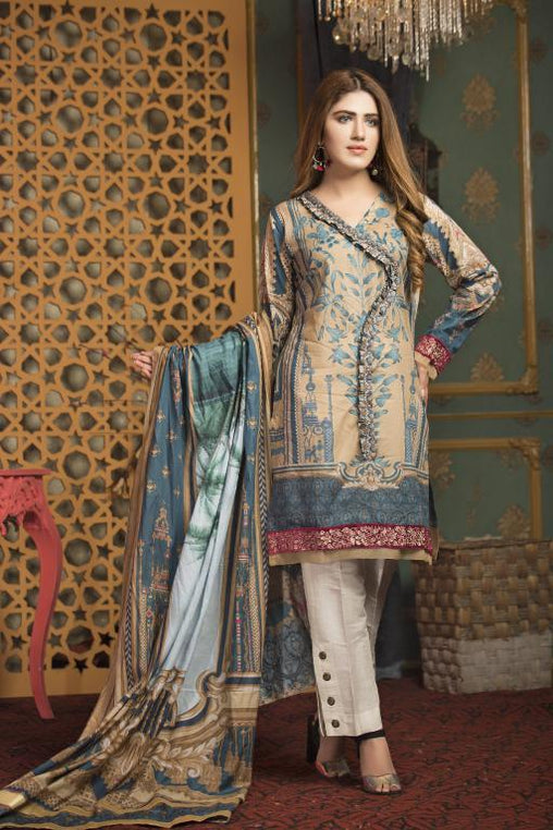 SL-05 -SAFWA LAWN-SALVIA COLLECTION VOL 01 2020 - PRINTED -2 PIECE DRESS - Safwa |Dresses| Pakistani Dresses| Fashion|Online Shopping