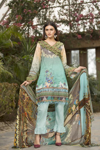 BC-05 - BELLA COLLECTION - 3 PIECE SUIT 2020-Three Piece Suit-SAFWA -SAFWA Brand Pakistan online shopping for Designer Dresses SAFWA DRESS DESIGN, DRESSES, PAKISTANI DRESSES