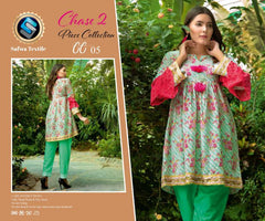 CP-05 SAFWA PREMIUM LAWN - CHASE COLLECTION - DIGITAL 2 PIECE COLLECTION - safwa