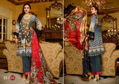 ES-05-SAFWA EVA SATIN COLLECTION vol 1-3 PIECE SUIT-Three Piece Suit Dress Design, Pakistani Dresses, Online Shopping in Pakistan