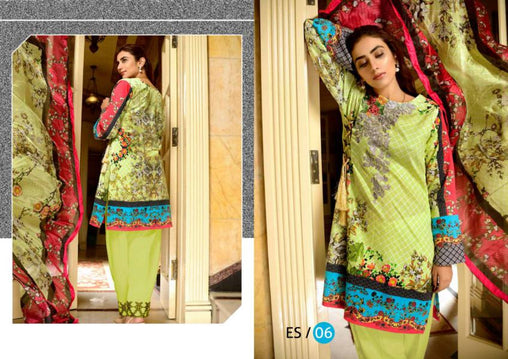 ES-06-SAFWA EVA SATIN COLLECTION vol 1-3 PIECE SUIT-Three Piece Suit Dress Design, Pakistani Dresses, Online Shopping in Pakistan