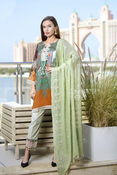 SN-06 - SANRITA COLLECTION VOL 1 3 PIECE SUIT 2020-Three Piece Suit-SAFWA -SAFWA Brand Pakistan online shopping for Designer Dresses SAFWA DRESS DESIGN, DRESSES, PAKISTANI DRESSES