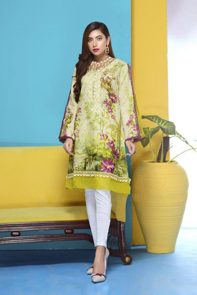 DM-07 -SAFWA DIGITAL PRINTED LAWN-MESURI COLLECTION-DIGITAL LAWN SHIRT - Safwa-Pakistani Dresses-Dresses-Kurti-Shop Online