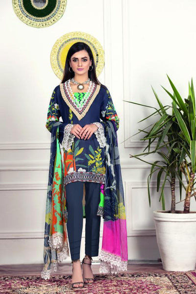 SU-07 - SAFWA URBAN COLLECTION VOL 1 2020 - 3 PIECE SUMMER DRESS COLLECTION