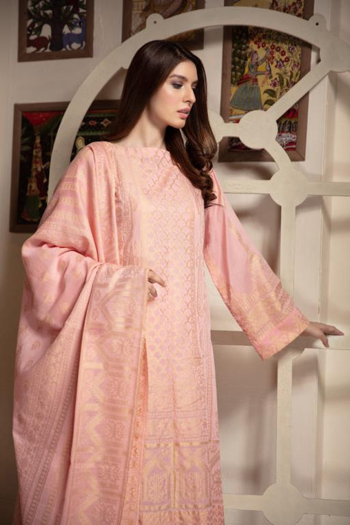 JC-08-SAFWA JACQUARD Lawn Cotton COLLECTION Vol 1 2020 - 3 PIECE DRESS - Safwa | Dresses | Pakistani Dresses | Fashion| Online Shopping