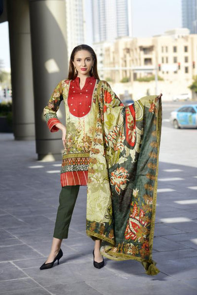 PR-08 - SAFWA PRAHA COLLECTION 3 PIECE SUIT 2020 - Three Piece Suit-SAFWA -SAFWA Brand Pakistan online shopping for Designer Dresses| SAFWA| DRESS| DESIGN| DRESSES| PAKISTANI DRESSES