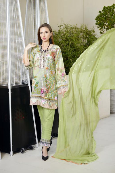 SN-08 - SANRITA COLLECTION VOL 1 3 PIECE SUIT 2020-Three Piece Suit-SAFWA -SAFWA Brand Pakistan online shopping for Designer Dresses SAFWA DRESS DESIGN, DRESSES, PAKISTANI DRESSES