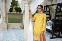 T-09 - SAFWA EMBROIDERED MASOORI 3 PIECE COLLECTION -SHIRT Trouser and Duptta | SAFWA DRESS DESIGN| DRESSES | PAKISTANI DRESSES| SAFWA -SAFWA Brand Pakistan online shopping for Designer Dresses