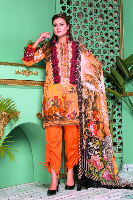 SB-06 - SAFWA OBEN COLLECTION VOL 1 2020 - 3 PIECE SUMMER DRESS COLLECTION