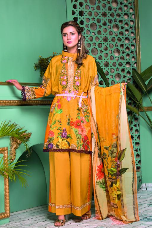 SB-04 - SAFWA OBEN COLLECTION VOL 1 2020 - 3 PIECE SUMMER DRESS COLLECTION