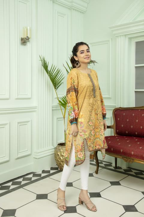 DKS-106 - SAFWA DIGITAL KARANDI COLLECTION VOL 1 2020 -SAFWA SHIRT | KURTI | COLLECTION -SAFWA Brand Pakistan online shopping for Designer Dresses SAFWA DRESS DESIGN, DRESSES, PAKISTANI DRESSES