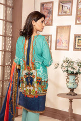 Sm-17 - SAFWA DIGITAL EMBROIDERED 3 PIECE MODA COLLECTION -SHIRT Trouser and Duptta |SAFWA DRESS DESIGN| DRESSES| PAKISTANI DRESSES| SAFWA -SAFWA Brand Pakistan online shopping for Designer Dresses