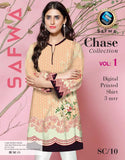 SC-10 - SAFWA PREMIUM LAWN - CHASE COLLECTION - DIGITAL  - SHIRT