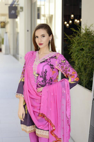 SN-10 - SANRITA COLLECTION VOL 1 3 PIECE SUIT 2020-Three Piece Suit-SAFWA -SAFWA Brand Pakistan online shopping for Designer Dresses SAFWA DRESS DESIGN, DRESSES, PAKISTANI DRESSES
