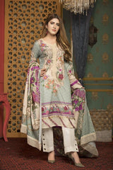 SL-11 -SAFWA LAWN-SALVIA COLLECTION VOL 01 2020 - PRINTED -2 PIECE DRESS - Safwa |Dresses| Pakistani Dresses| Fashion|Online Shopping