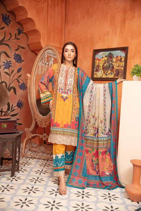 SU-11 - SAFWA URBAN COLLECTION VOL 2 2020 - 3 PIECE SUMMER DRESS COLLECTION