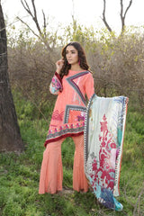 PR-11 - SAFWA PRAHA COLLECTION 3 PIECE SUIT 2020 - Three Piece Suit-SAFWA -SAFWA Brand Pakistan online shopping for Designer Dresses| SAFWA| DRESS| DESIGN| DRESSES| PAKISTANI DRESSES