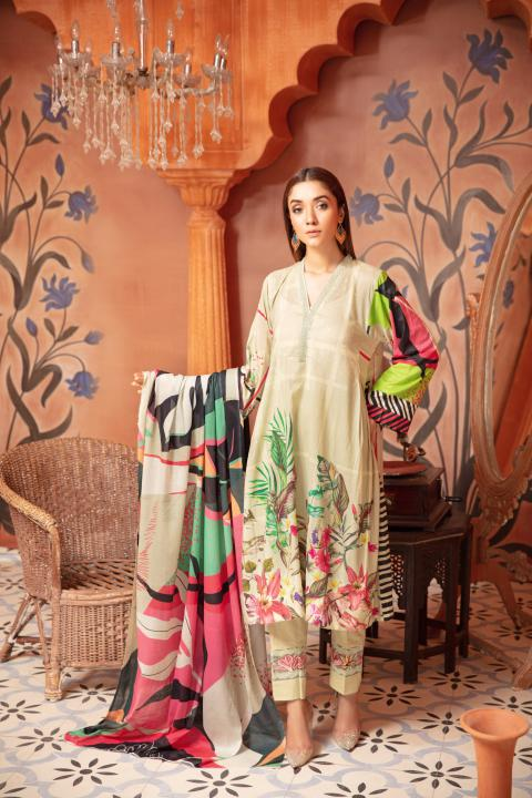 SU-12 - SAFWA URBAN COLLECTION VOL 2 2020 - 3 PIECE SUMMER DRESS COLLECTION