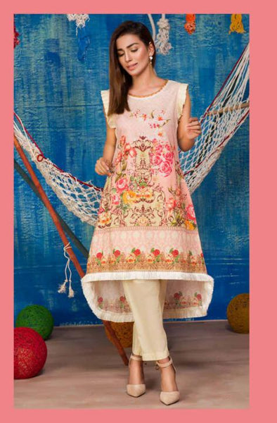 SP-13-SAFWA PREMIUM LAWN-SERENE PLUS COLLECTION-DIGITAL 2 PIECE - Safwa-Pakistani Dresses-Dresses-Kurti-Shop Online