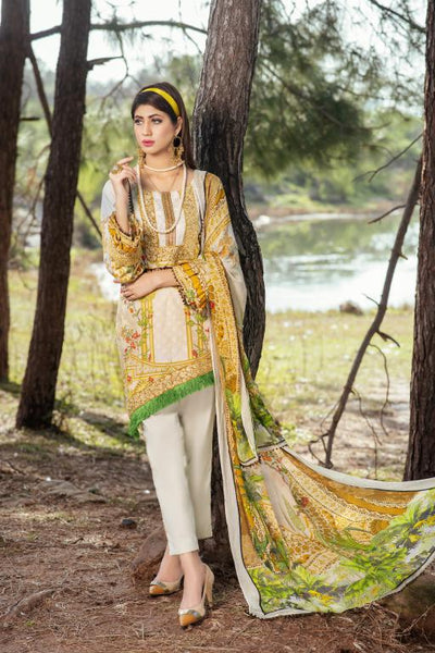 BC-13 - BELLA COLLECTION - 3 PIECE SUIT 2020-Three Piece Suit-SAFWA -SAFWA Brand Pakistan online shopping for Designer Dresses SAFWA DRESS DESIGN, DRESSES, PAKISTANI DRESSES